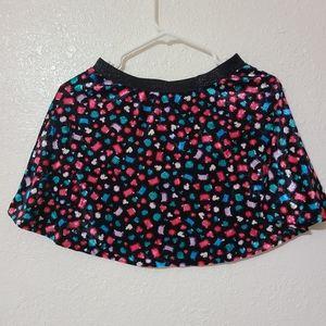 Justice Girls Skirt Velvet Style Fabric